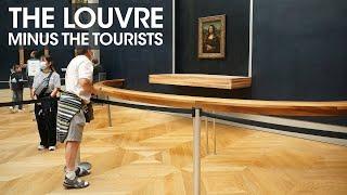 The Louvre Without Tourists - Louvre Museum Paris