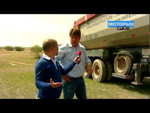 MITRA Interview Motor television show Mongolia TV