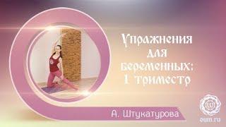 Упражнения для беременных: 1 триместр. Александра Штукатурова