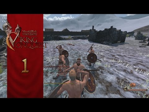 Mount and Blade: Warband DLC - Viking Conquest (Let's Play | Gameplay) Episode 1: New Lands