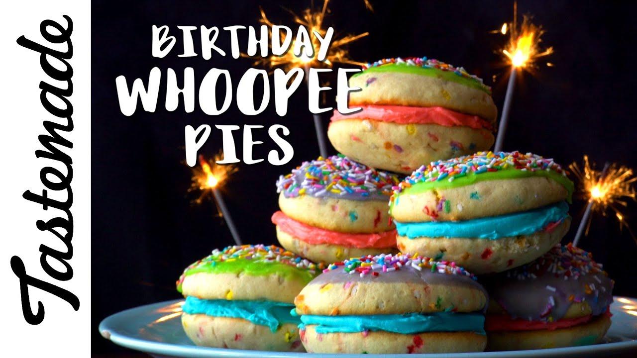 Birthday Whoopee Pies l Julie Nolke