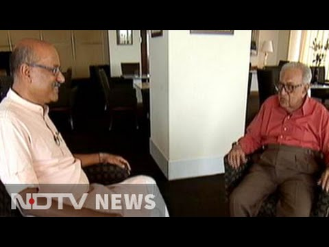 Walk The Talk with legendry radio announcer Ameen Sayani (Part 1)