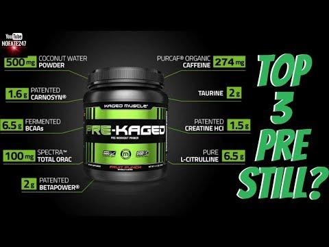 Top 3 Pre Workout, Still?   Kris Gethin Pre-Kaged Preworkout   Supplement Review
