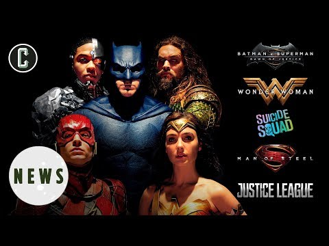 Justice League Is DCEU's Lowest Grossing Movie