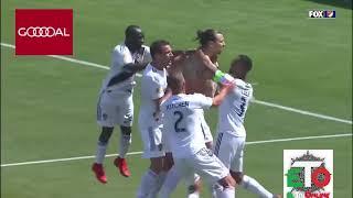 Zlatan Ibrahimovic MLS debut leaves nothing to the imagination