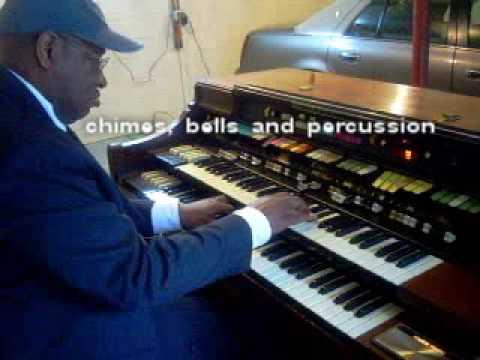 Sam on Hammond Concord Organ