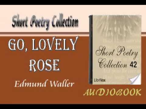 Go, Lovely Rose Edmund Waller Audiobook Short Poetry