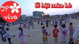 [JP viva] Yukata trẻ con siêu cưng trong lễ hội mùa hè