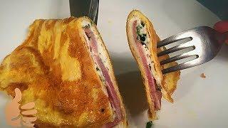 Великолепный Шикарный Омлет с Творожным Сыром! Очень вкусный рецепт