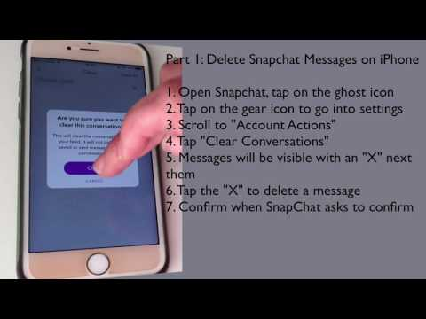 How to Delete SnapChat Messages on iPhone Permanently