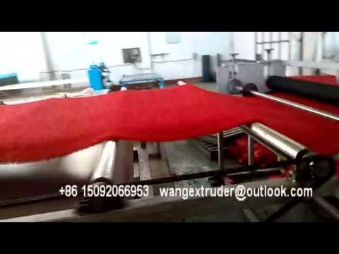 The China Preffesional PVC Plastic Floor Mat Coil Mat Machinery Supplier