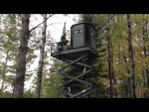 Amazing Deer Stand Youtube