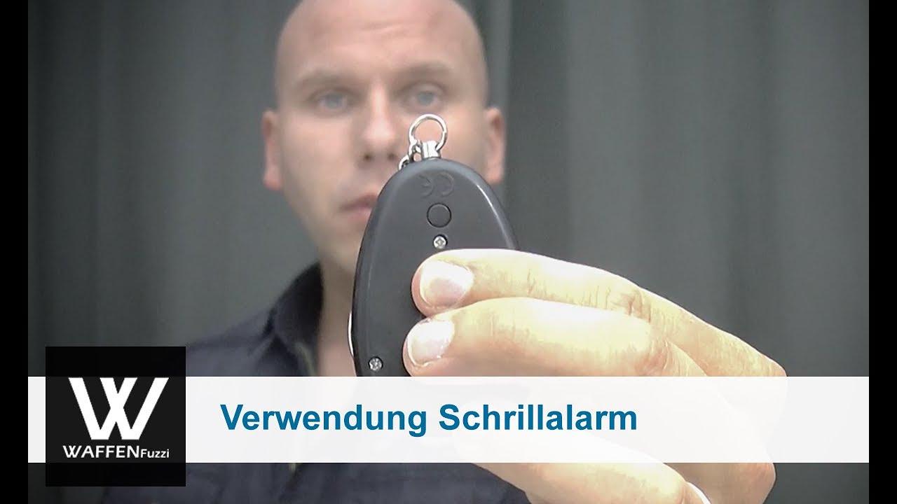 schrillalarm test