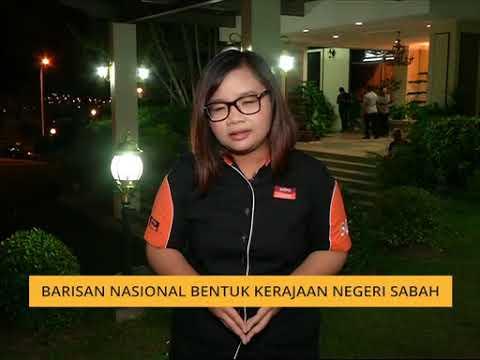 Barisan Nasional bentuk kerajaan Negeri Sabah