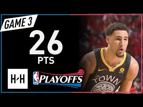 Klay Thompson Full Game 3 Highlights Warriors vs Pelicans 2018 NBA Playoffs - 26 Pts!