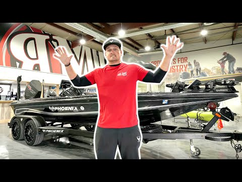 My NEW Dream Bass Boat is INCREDIBLE!!! ($15,000 UPGRADE)