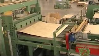 Линия по производству фанеры(Автоматизированная линия по производству фанеры Angelo Cremona Италя., 2014-02-26T21:15:49.000Z)
