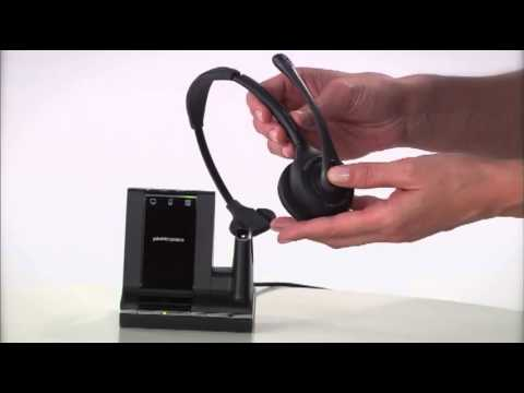 plantronics savi 700 headset manual