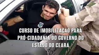 Erasmo Gomes - Curso de imobilização para Pró-Cidadania do governo do estado do Ceará