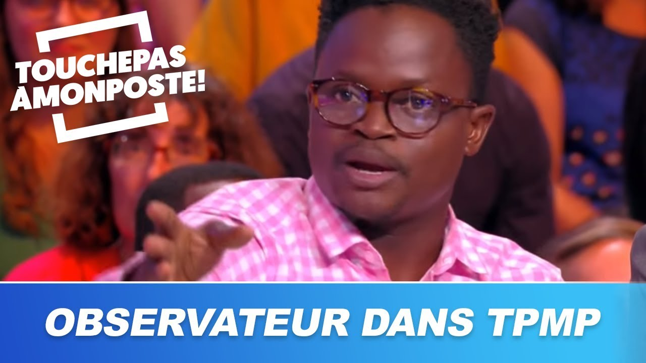 Observateur (Florent Amany) raconte comment il a obtenu ses papiers grâce à Cyril Hanouna et TPMP !