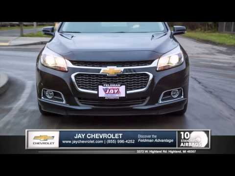 2015 Chevrolet Malibu Safety Review in Highland, MI