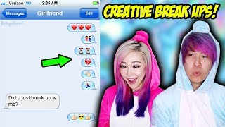 The Most Creative Break Ups Ever!