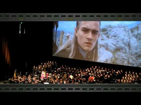 The bridge of khazad dum - Howard Shore Live