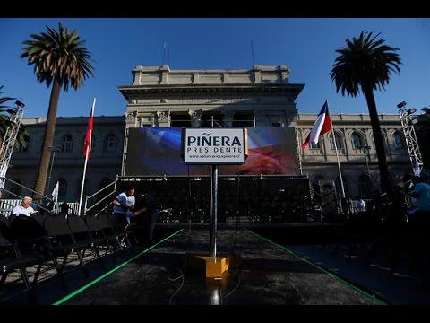 Lanzamiento de la campaña electoral de Sebastián Piñera