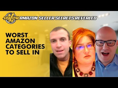 More of the Worst Amazon Categories to Sell In for New Sellers