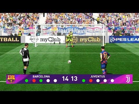 FC Barcelona vs Juventus CF   Penalty Shootout   Pro Evolution Soccer Gameplay PC