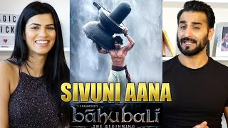 SIVUNI AANA REACTION!! | Bahubali - The Beginning | Prabhas