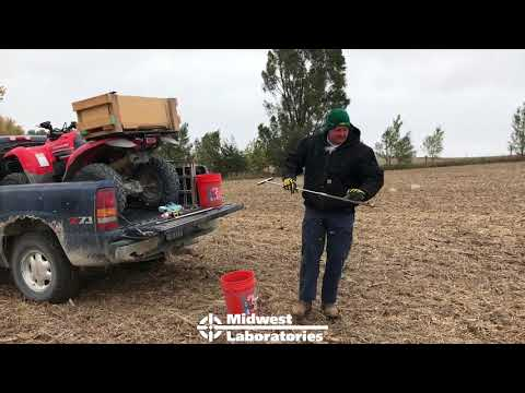 How To Take A Grid Soil Sample
