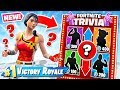 FORTNITE TRIVIA Random LOOT *NEW* Game Mode in Fortnite Battle Royale