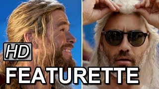 Marvel's Thor: Ragnarok | Behind the Scenes Fun With Taika Waititi & Chris Hemsworth