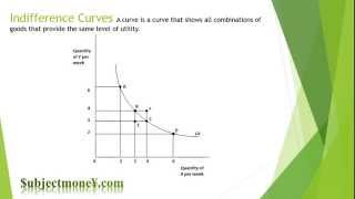 Microeconomics: Indifference Curves Utility Budget Constraint Line Marginal Rate of Substitution MRS
