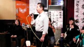 2010年10月24日仁木三味線主催 民謡勉強会にて 唄い手は小柴昇さん.