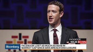 Facebook Lost as Much as $60B in Market Cap Since Data Breach