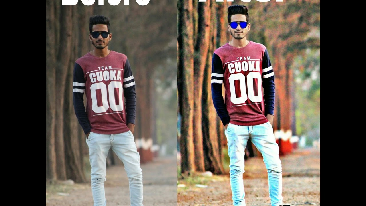 How To Do Photo Edit With Snapseed And Picart And Chnage Hair Style