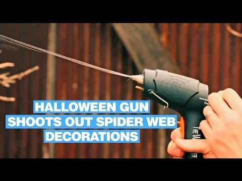 Webcaster Gun - Halloween Gun That Shoots Out Spider Web Decorations