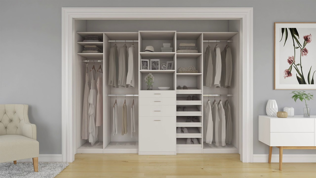 Bedroom Closet Transformation By Closet World Youtube