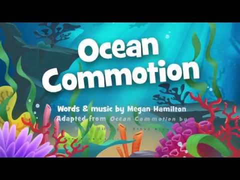 Ocean Commotion Traditional with lyrics
