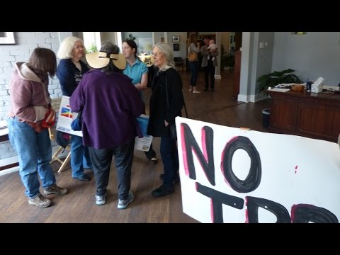 Fast Track/TPA demo Congressman Jared Polis office 3 13 15 B