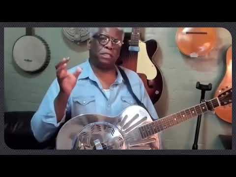 🎸 Slide Guitar Lesson - Walking Blues: Breakdown - Rev. Robert Jones