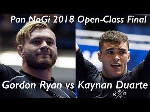 Gordon Ryan vs Kaynan Duarte / Pan NoGi Championship 2018