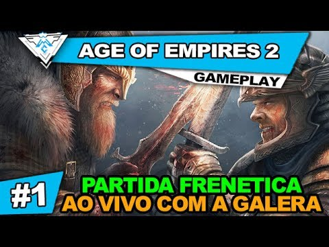 AGE OF EMPIRES 2 - PARTIDA FRENETICA AO VIVO! / PT-BR