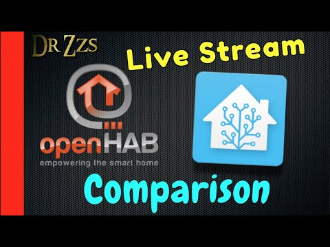 Live with BK-Hobby - Comparing Home Assistant and OpenHAB
