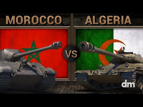 Morocco vs Algeria - Army/Military Power Comparison 2018