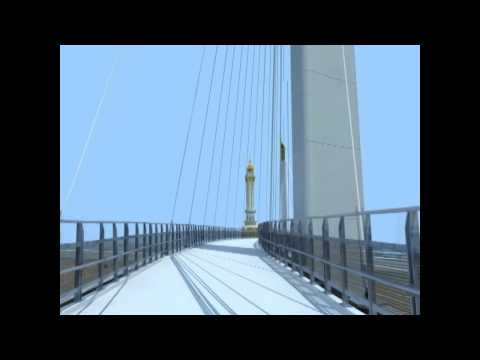 Animasi Jembatan Gentala Arasy Ikon Baru Baru Kota Jambi)