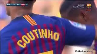 ברצלונה נגד בוקה ג'וניורס 0-3 גביע גאמפר