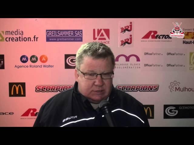 Scorpions de Mulhouse - Coqs de Courbevoie (04-10-2014) : Réactions d'après match